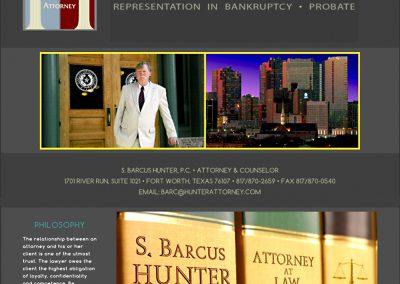 Hunter Attorney - Fort Worth