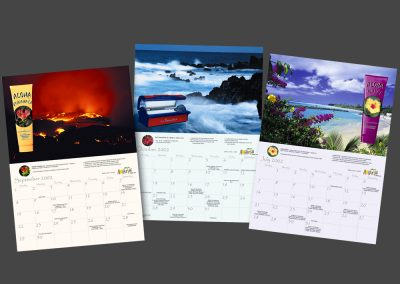Aloha Tan Calendar