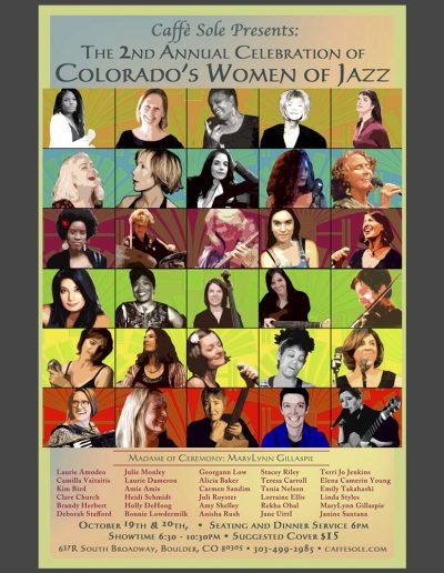 Celebration of Women of Jazz Poster